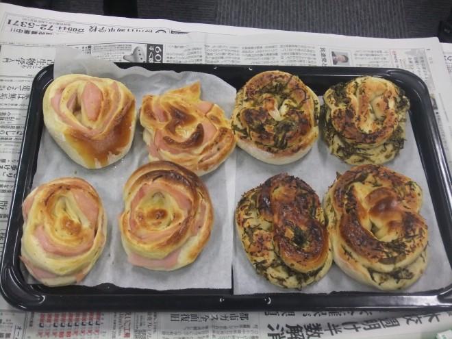 総菜パンを作ろう♪