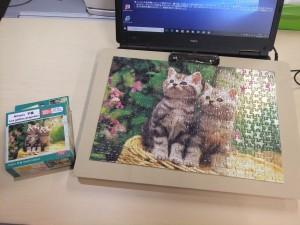 ジグソーパズルに挑戦!!
