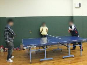 みんなで卓球大会!