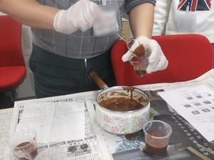 チョコムースを作ろう♫