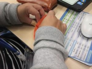 難しい折り紙に挑戦!