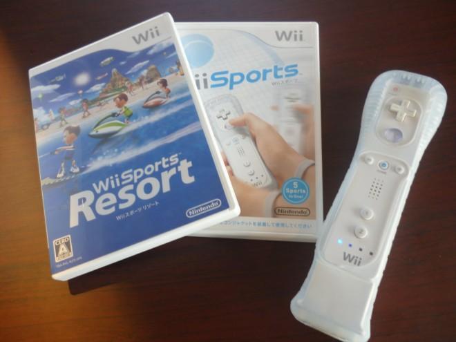 wiiスポーツで体力づくり!