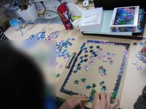 ジグソーパズルに挑戦!