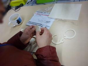 手作り模型で手先を鍛えよう