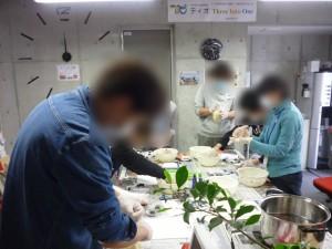 簡単ヘルシー★豆腐饅頭づくり