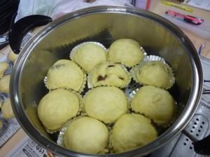 感嘆ヘルシー★豆腐饅頭づくり
