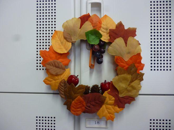 秋のリースを作成しよう!