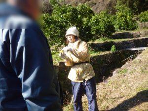 みかん狩りの職場体験に出かけました!