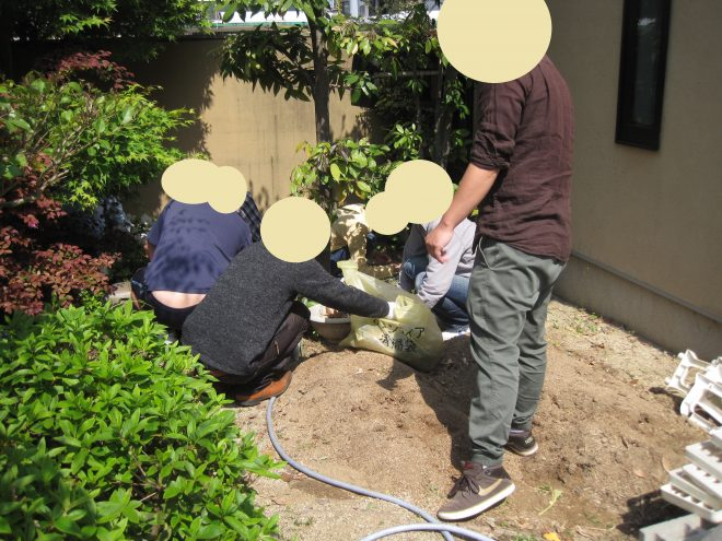 ガーデン整備を行いました!