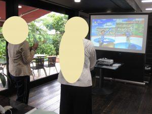 Wiiで体力向上!