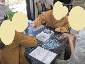 皆で協力してパズルチャレンジ★